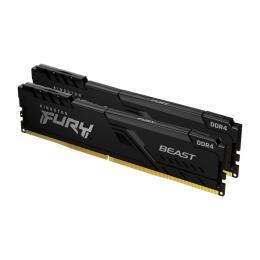 Kingston Fury (ex.HyperX) DDR4 16GB (2x8GB) 3200 MHz Fury Beast Black