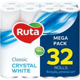 Ruta Classic 2 слоя Белая 32 рулона