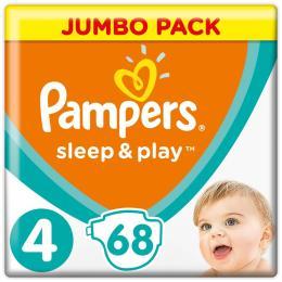 Pampers Sleep & Play Maxi Размер 4 (9-14 кг), 68 шт