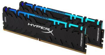 HyperX (Kingston Fury) DDR4 16GB (2x8GB) 3200 MHz HyperX Predator RGB