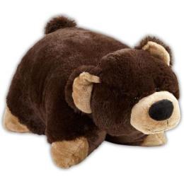 Декоративная подушка медвежонок