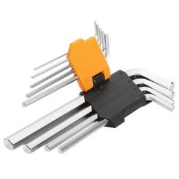 Tolsen шестигранных ключей 9 шт 1.5-10 мм