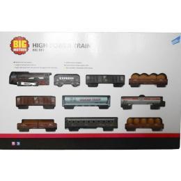 Big Motors Железная дорога с 9 вагонами