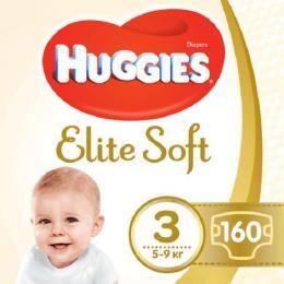 Huggies Elite Soft 3 (5-9 кг) 160 шт