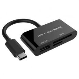 GEMBIRD Type-C SD/TF + USB2.0