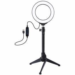 """Puluz Ring USB LED lamp 4.7""""+ table tripod"""