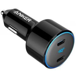 Anker PowerDrive+ III Duo - 30W PD + 18W USB-C (Black)