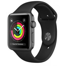 Apple Watch Series 3 GPS, 38mm Space Grey Aluminium Case