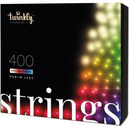Twinkly Smart LED Strings RGBW 400, BT + WiFi, Gen II, IP4