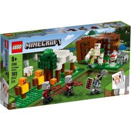 LEGO Minecraft Аванпост разбойников 303 детали