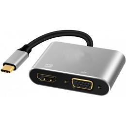 EXTRADIGITAL Type-C to HDMI / VGA