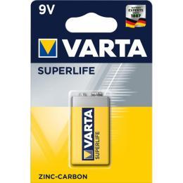 Varta Крона 6F22 Superlife Zinc-Carbon * 1
