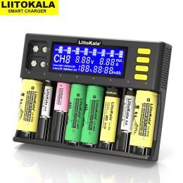 Liitokala 8 Slots, LCD дисплей, Li-ion/Ni-MH/Ni-Cd/AA/ААA/AA