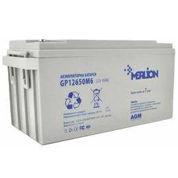 Merlion RDC12-65, 12V-65Ah GEL