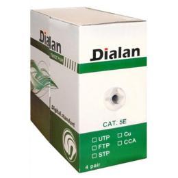 Dialan UTP 305м КПВ 4*2*0,50 [СU] cat.5e