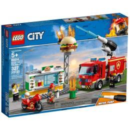 LEGO City Пожар в бургер-кафе 327 деталей