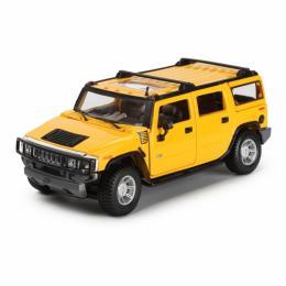 Maisto Hummer H2 SUV 2003 (1:27) желтый