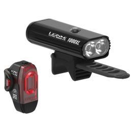 Lezyne Lite Drive 1000XL/KVT PRO Pair 1000/75 Lm Black
