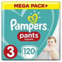 Pampers трусики Pants Midi Размер 3 (6-11 кг), 120 шт