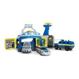 Dickie Toys Станция SWAT с 3 машинами и пускателем дронов
