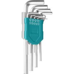 TOTAL THT106191 ключей шестигранных, 1.5-10мм, 9шт.