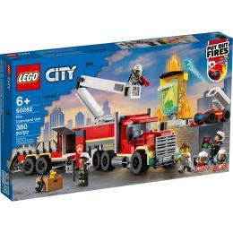 LEGO City Fire Пожарный командный пункт 380 деталей