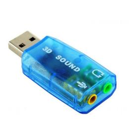 Atcom USB-sound card (5.1) 3D sound (Windows 7 ready)