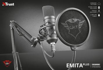 Trust GXT 252+ Emita Plus Streaming USB