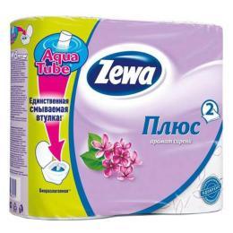 Zewa Plus 2-слойная Сирень 4 шт