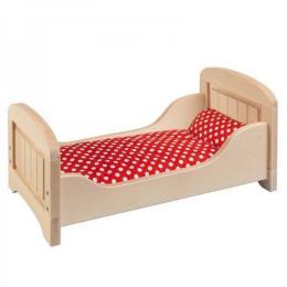 Goki Кроватка для кукол (натуральное)