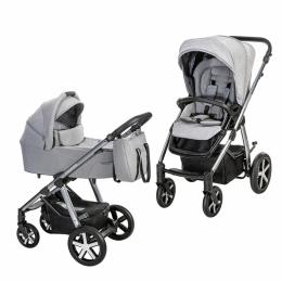 Baby Design 2 в 1 Husky NR 2021 107 SILVER GRAY