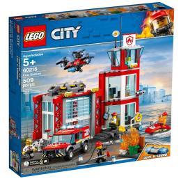 LEGO City Пожарное депо 509 деталей