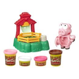 Hasbro Play-Doh Озорные поросята