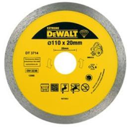 DeWALT алмазный по керамике 110х1.6х20.0мм.