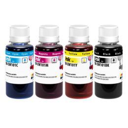 ColorWay Epson L100/L200 (4х100мл) BK/С/M/Y
