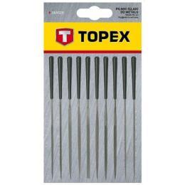 Topex игольчатые по металлу, набор 10 шт.
